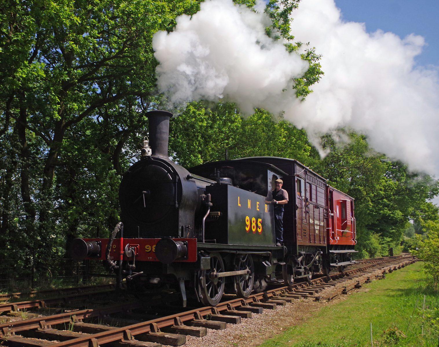 Normal steam service resumed